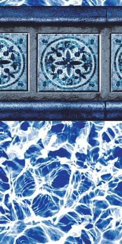Santiago Slate Swimming Pool Liner