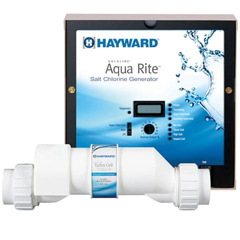 In-ground Pool Salt Water Chlorinator System
