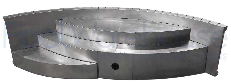 In Ground Steel Pool Kit Step