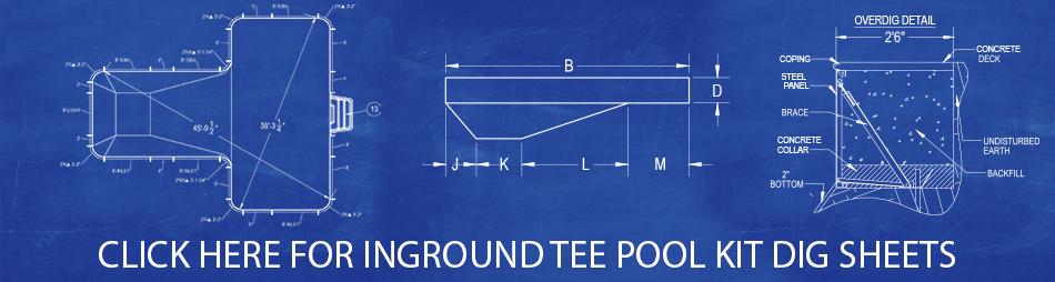 Tee Pool Kit Dig Sheets