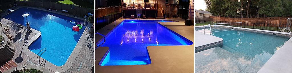 L Shaped Swimming Pool Kits Pool Warehouse