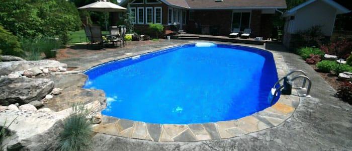 Oval swimming pool kits inground pool kits for Inground pool kits