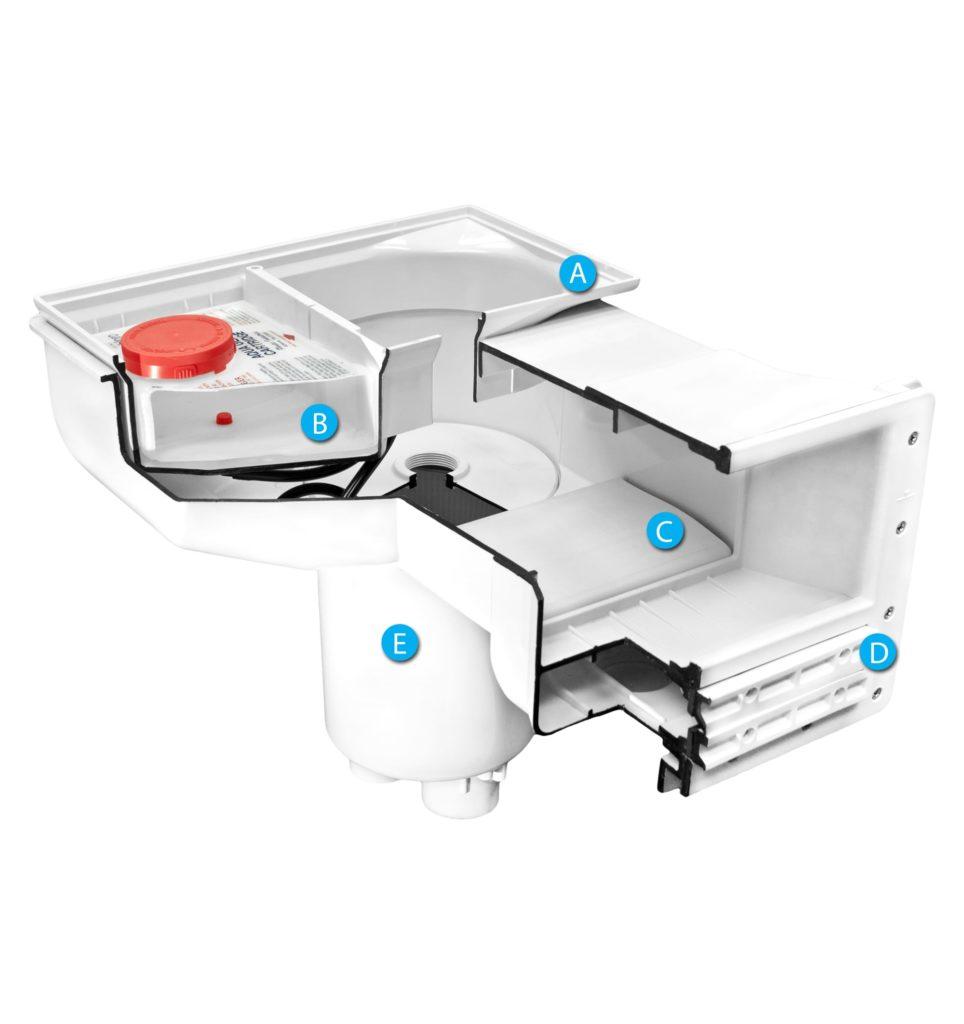 Aqua Genie Inground Pool Kit Skimmer