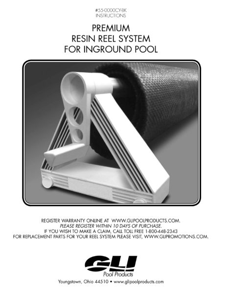 Cyclone Solar Reel System Owners Manual