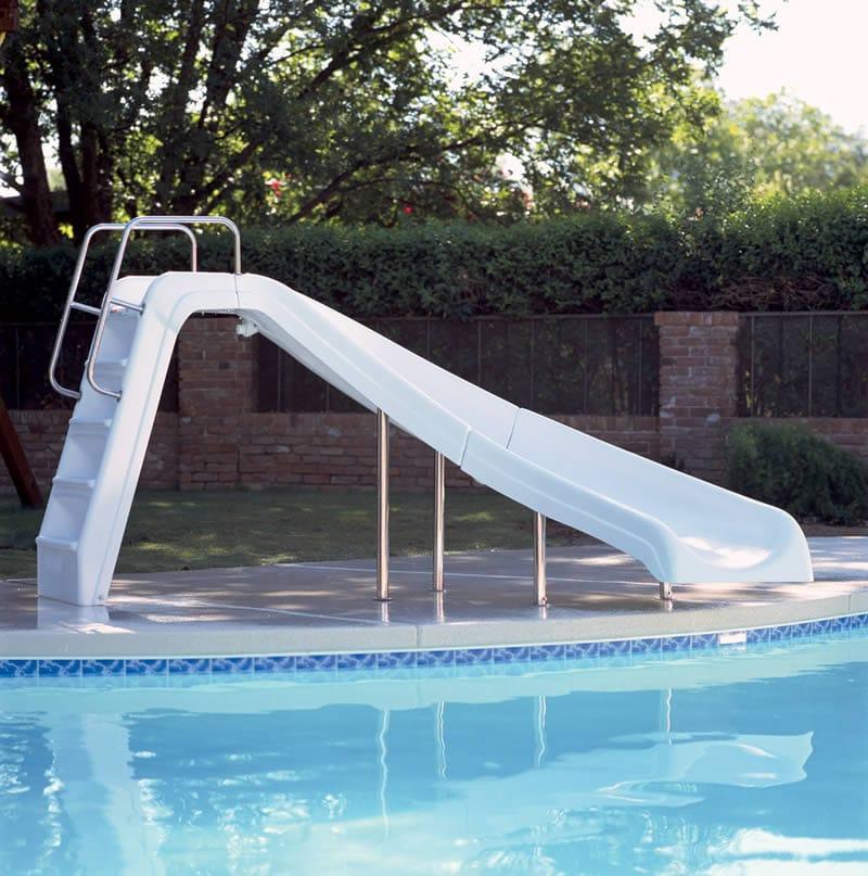 White Water Swimming Pool Slide Swimming Pool Slide