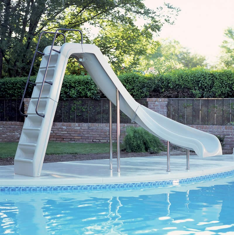 Wild Ride Swimming Pool Slide, How Much Is A Slide For Inground Pool