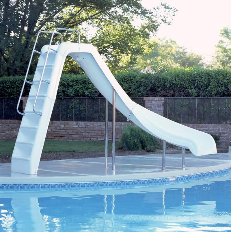 Wild Ride Swimming Pool Slide Swimming Pool Slides Pool Kits