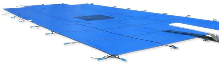 Mesh Vs Solid Safety Swimming Pool Covers
