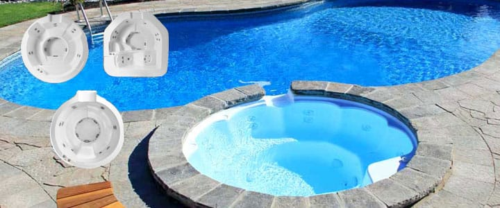 inground pools with hot tubs. Simple Inground SpilloverSpasInGroundSwimmingPoolKit On Inground Pools With Hot Tubs O
