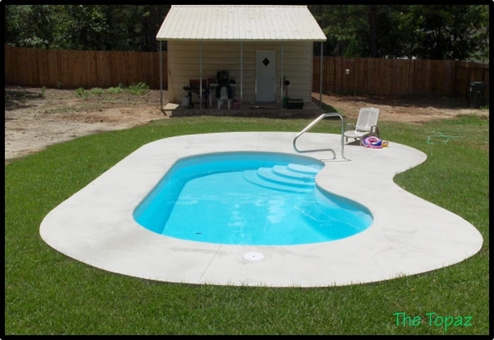Pool kit styles swimming pool kits inground pool kits for Small swimming pools