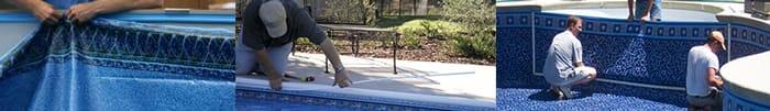 Inground Swimming Pool Liner Installation