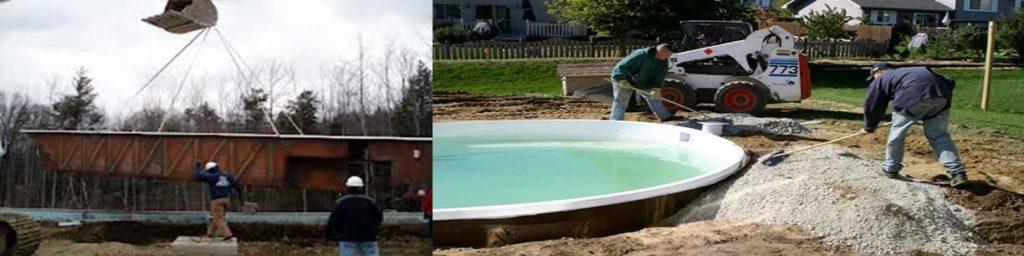 Fiberglass Pool Kit Installation Swimming Pool Kits Pool Kits