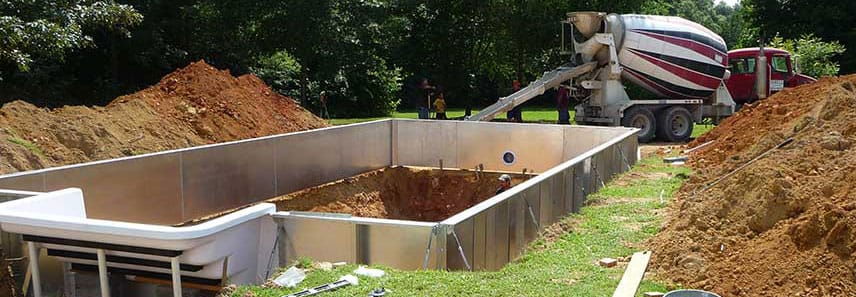 Pool kit installation videos in ground pool kits pool kit installation videos solutioingenieria Image collections