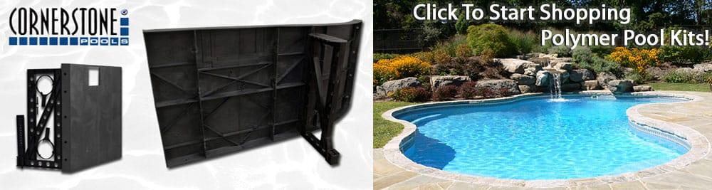 Polymer Inground Swimming Pool Kits