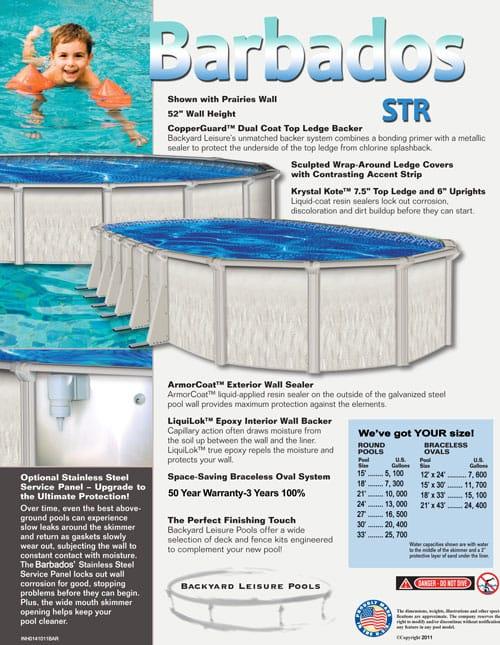 perfect pool bottom kit work art