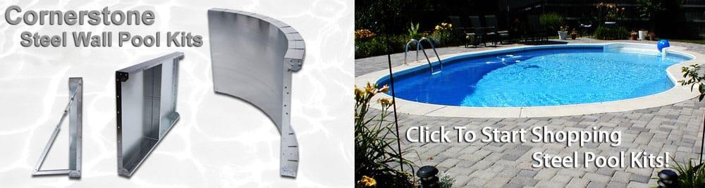 Steel Inground Swimming Pool Kits