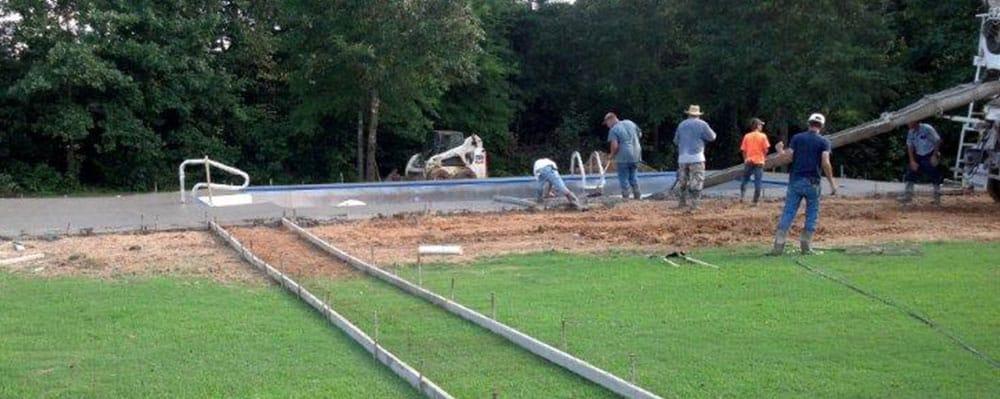 Schrimsher Inground Pool Kit Construction