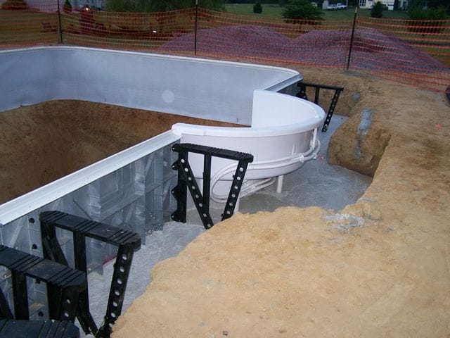 In-ground Swimming Pool Kit Construction