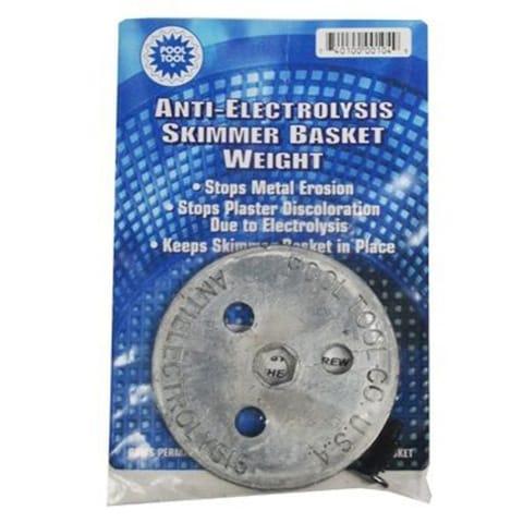 Anti Electrolysis Skimmer Basket Weight Pool Warehouse