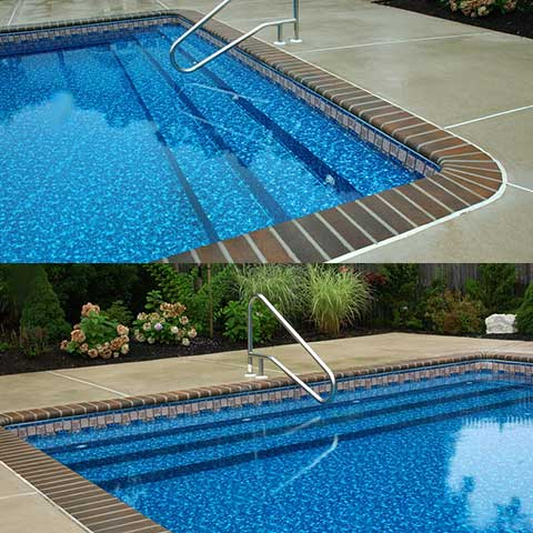 Inground Steel Swimming Pool Steps Pool Kits Pool