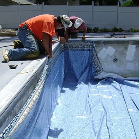 Rectangle Replacement Swimming Pool Liners