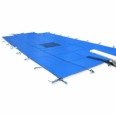 Solid Vinyl Safety Winter Swimming Pool Covers