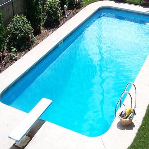 16 X 32 Polymer Wall Swimming Pool Kit
