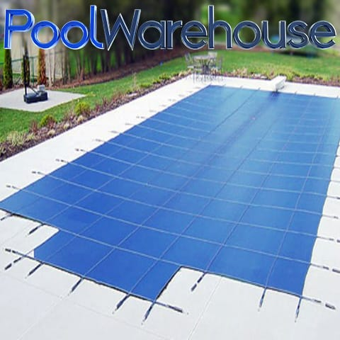 Rectangle Deluxe Heavy Weight Safety Pool Covers