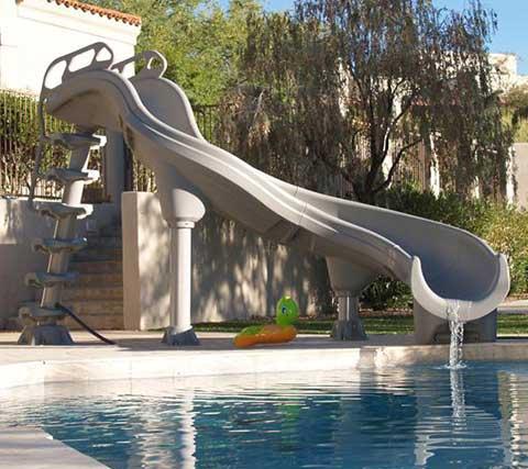 Adrenaline Swimming Pool Slide - Pool Warehouse