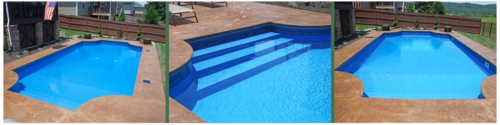 Hampton In-ground Pool Kits