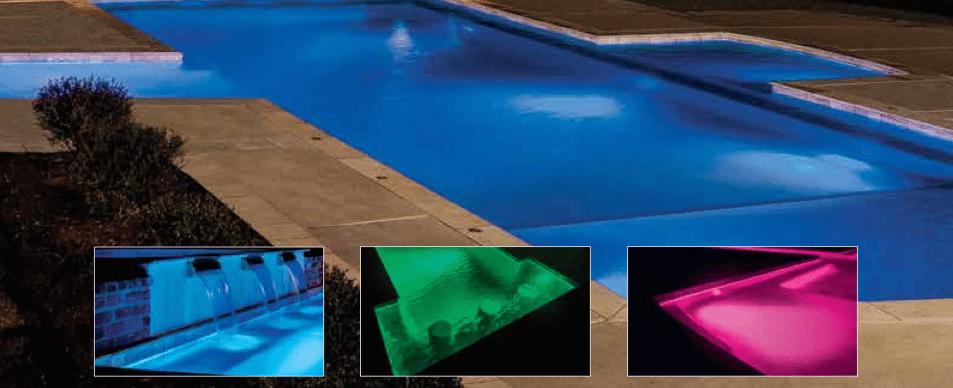 hayward colorlogic 320 led pool kit lights. Black Bedroom Furniture Sets. Home Design Ideas