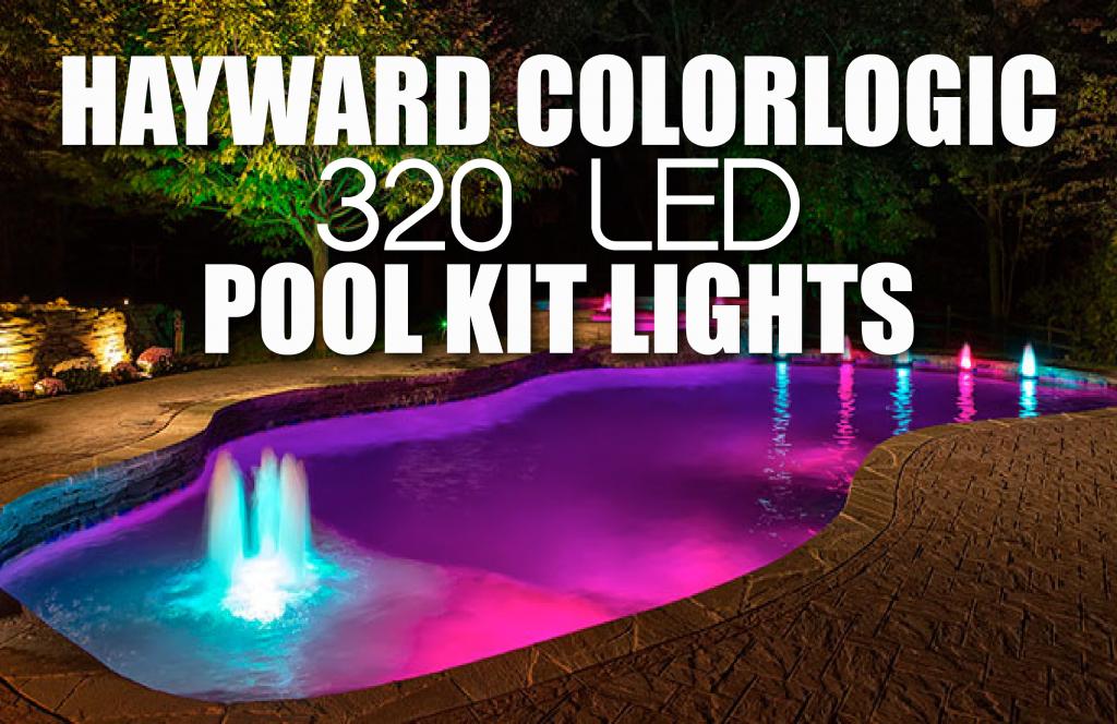 Hayward Colorlogic 320 Led Pool Kit Lights