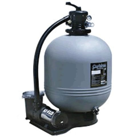 Waterway 22 in sand filter with 1 5 hp 2 speed pump for Pond sand filter