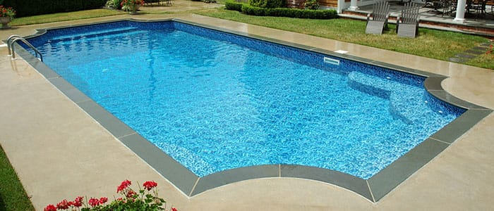 Hampton in ground pool kits pool warehouse for Inground pool kits
