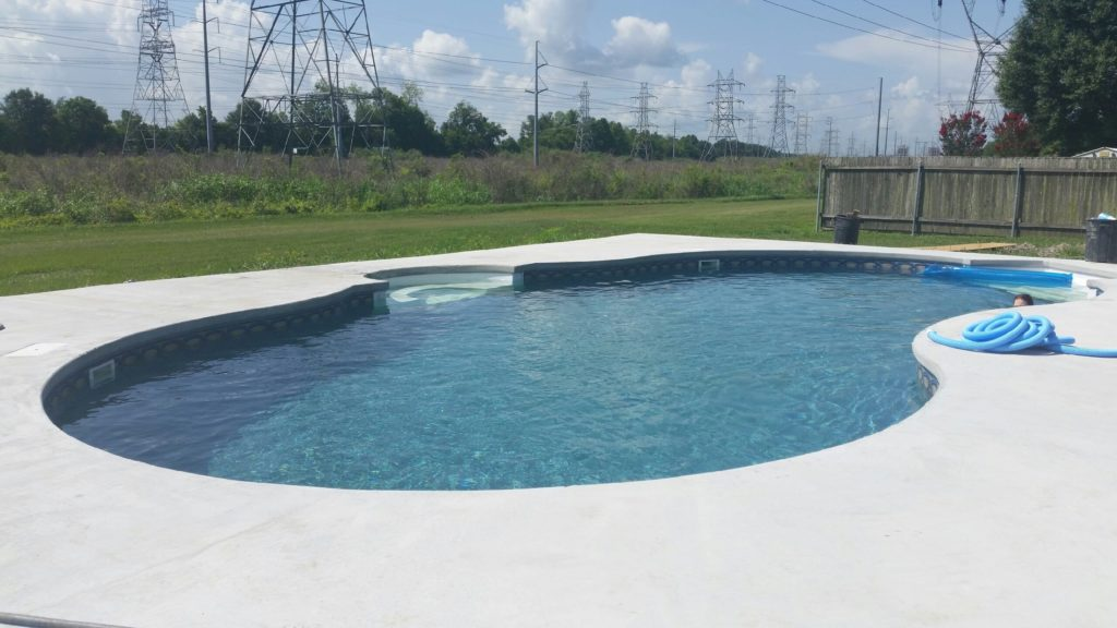 Brewer Steel Wall In-ground Pool Kit Construction