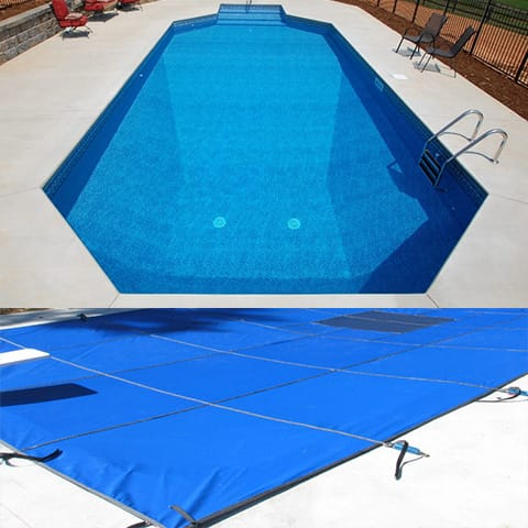 Grecian safety mesh swimming pool covers - Swimming pool safety covers inground ...
