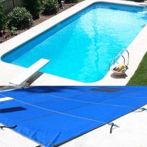 Rectangle 20 Year Mesh Safety Pool Covers