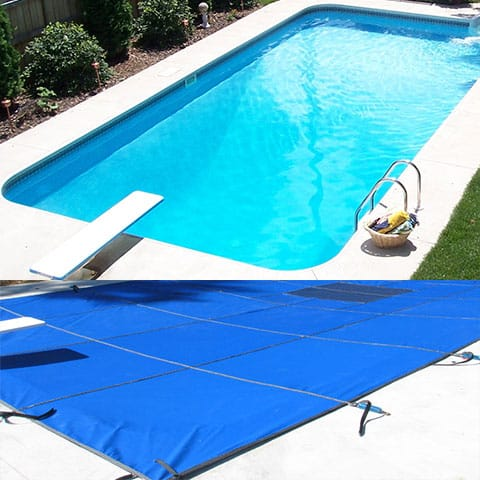 Safety Mesh In Ground Swimming Pool Covers