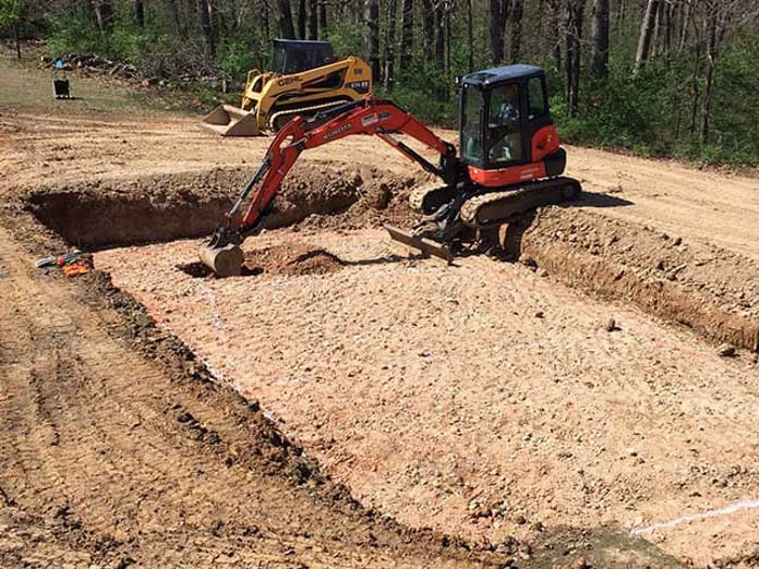 Allison Polymer Wall Inground Pool Kit Construction