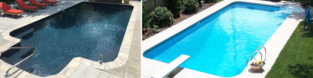 Rectangle swimming pool kits from pool warehouse for Swimming pool winter cover anchors