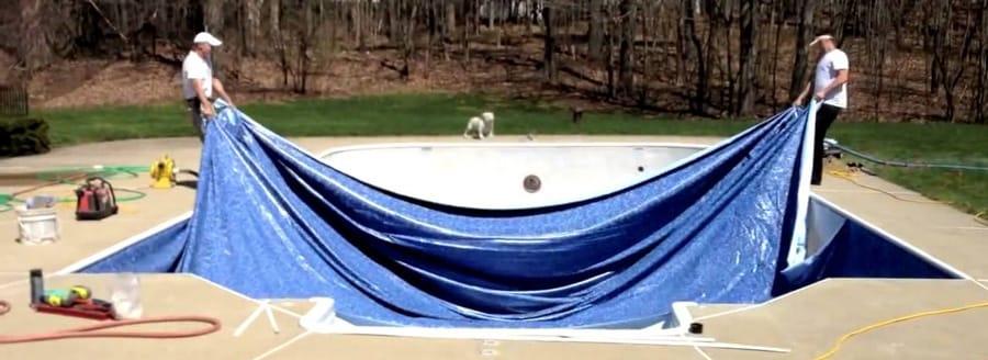 Inground Swimming Pool Liner Measuring And Installation FAQ
