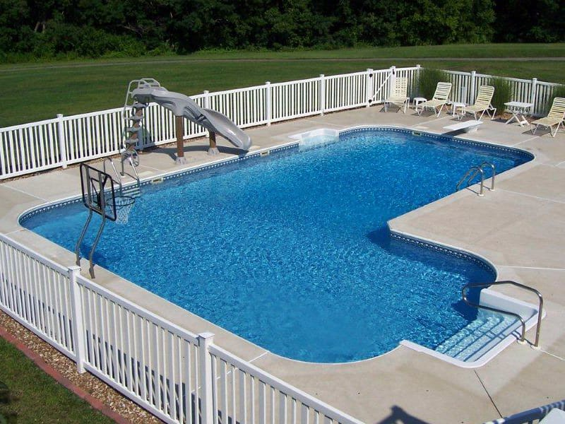 Swimming pool kit options pool warehouse - Swimming pool fencing options consider ...