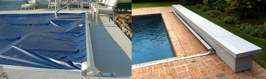 Deck Mounted Automatic Swimming Pool Covers