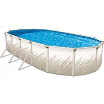 Pritium Oval Above Ground Swimming Pool Kit