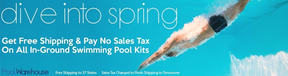 Spring Inground Swimming Pool Kit Sale