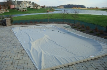 Deck Mounted Auto Swimming Pool Cover