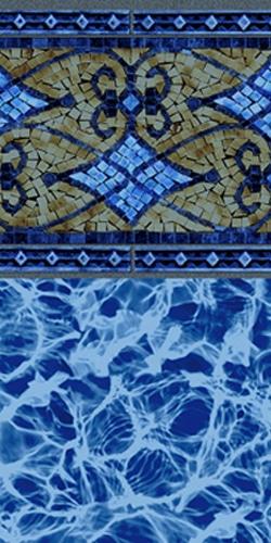 Las Olas Swimming Pool Liner