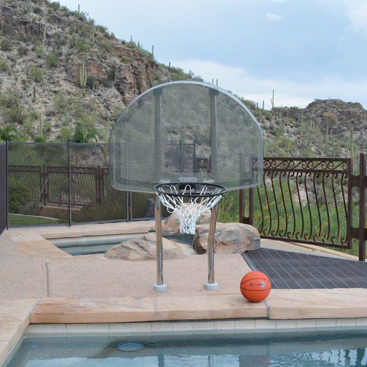 Swimming Pool Basketball Goal