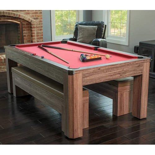 Newport 7 Ft Pool Table Combo Set With Benches Pool
