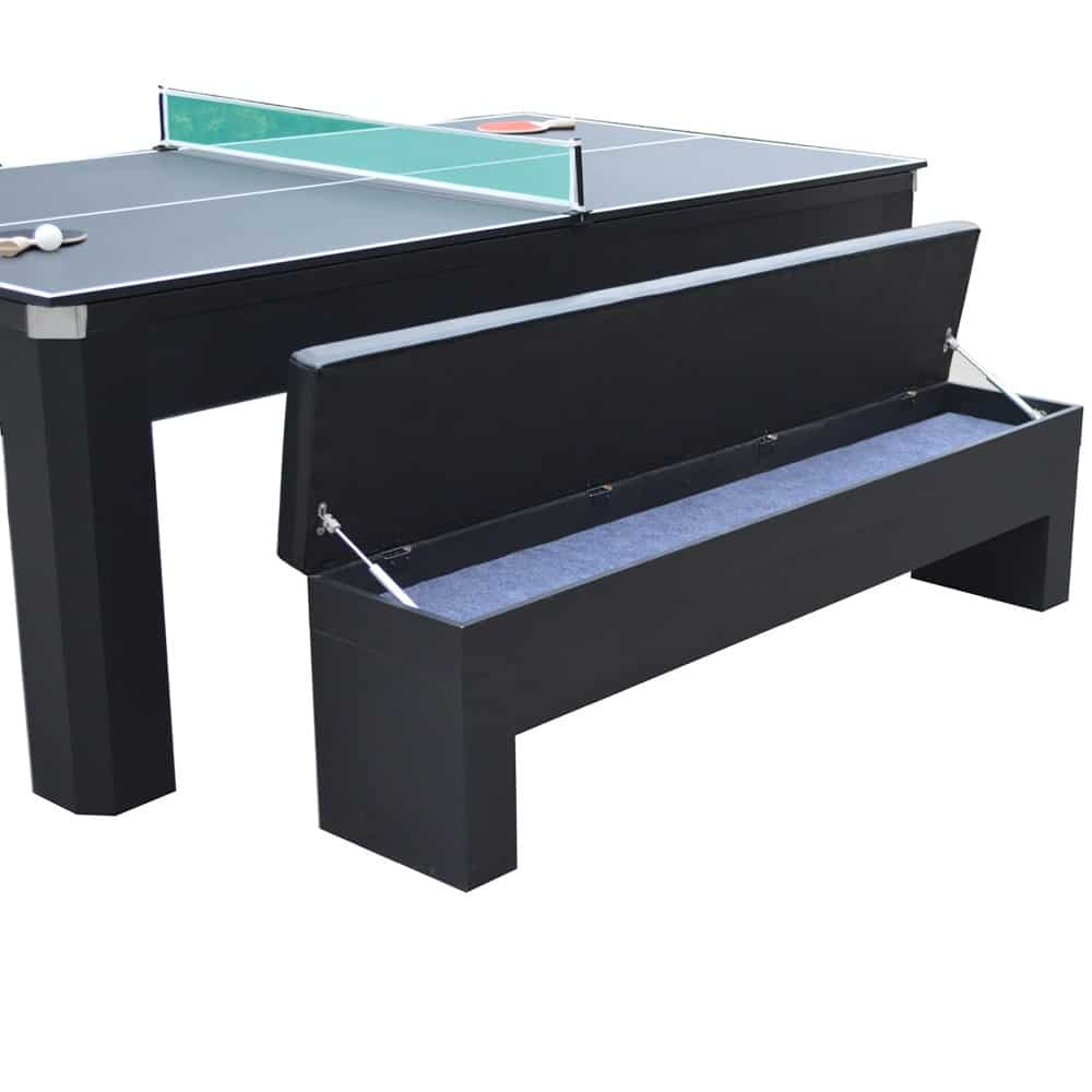 Park Avenue 7 Ft Pool Table Set With Benches And Top
